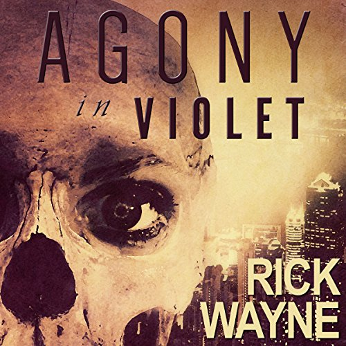 Agony in Violet audiobook cover art