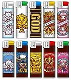 ミリオンゴッドシリーズ 神々のライター ゆるキャラver. 全10種セット ミリオンゴッド 電子ライター