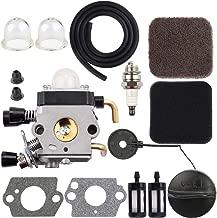 Dxent C1Q-S186B Carburetor + Fuel Cap for STIHL HS75 HS80 HS85 FC75 FC85 HL75 HL75K FH75 HT70 HT75 KM80 KM85 KM85R SP80 SP85 Trimmer Parts Air Filter Fuel Line Tune Up Kit