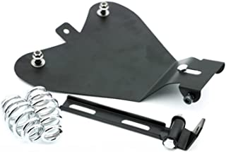 HANSWD Motorcycle Black Metal Solo Seat Baseplate For Sportster XL883/1200