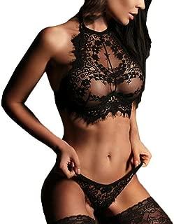 SPE969 Underwear Set, Women Sexy Lingerie Lace Flowers Push Up Top Bra Pants