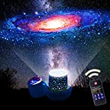 Kids Night Light Star Projector with 360 Degree Rotation Night Lighting lamp for Bedroom Best Slippers for Girls Boys (Flim-6 Set)