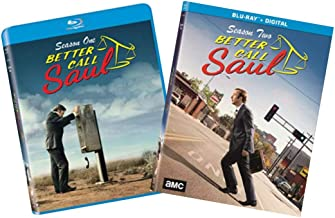 Better Call Saul: The Complete First & Second Seasons Blu-ray Collection (Season 1 and Season 2) [AMC Breaking Bad Prequel] [Bluray]