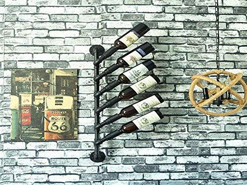 F2 Dekoration Kunst Hängepfeife Weinregal Stil Sieben Europäischen Wein Vitrine Home Bar Home Wohnzimmer