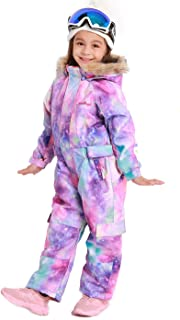 Bluemagic Big Kid's One Piece Snowsuits Ski Suits Waterproof Overalls Jackets Snowboarding