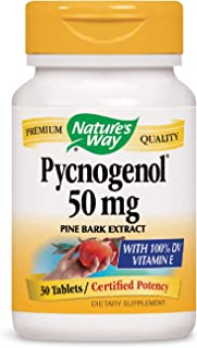 Nature's Way Pycnogenol,50mg 30 Tablets by Nature's Way