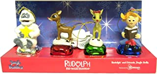Rudolph Bell Orn 4pc
