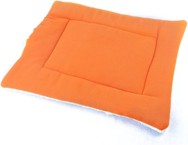 Bouti1583 Soft Cotton Pet Nap Pad Cushion Dog Mat Sleeper Bedding Container Cat