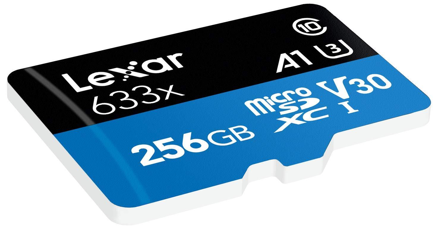 Tarjeta Lexar High-Performance 256GB 633x microSDXC UHS-I - LSDMI256BBEU633A: Amazon.es: Informática