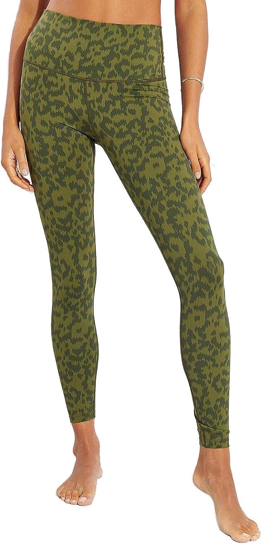 Varley Luna Legging Evergreen Spots