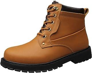 Bottes De Neige Chaudes Et Décontractées Pour Hommes - Chaussures En Coton Antidérapantes