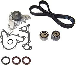 DNJ TBK133WP Timing Belt Kit with Water Pump for 1997-2012 / Mitsubishi/Diamante, Eclipse, Endeavor, Galant, Montero, Montero Sport / 3.5L, 3.8L / SOHC / V6 / 24V / 215cid, 230cid / 6G74, 6G75