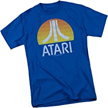 Atari - Sunrise Distressed Print Adult T-Shirt