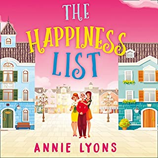 The Happiness List audiobook cover art