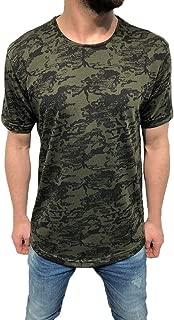 IHGTZS T-Shirts for Men, Men's Fashion Camouflage Fitness Casual T-Shirt Short Sleeve Shirt