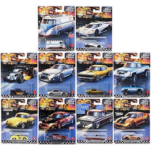 Hot Wheels Mattel Premium Car Boulevard Surtido de 1 unidad