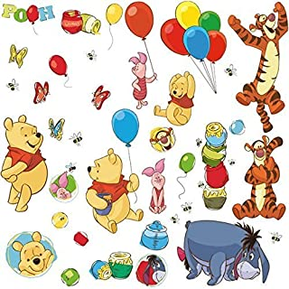 RoomMates Winnie The Pooh & Friends Peel and Stick Wall Decal - RMK1498SCS