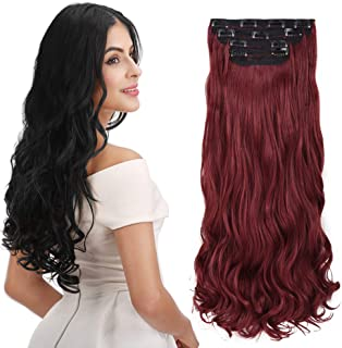 Best long dark red hair Reviews