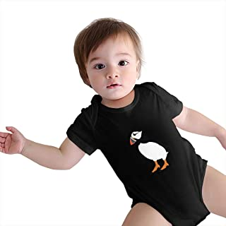 Puffin Bird Baby Onesies Infant Clothes Bodysuit Jumpsuit Rompers Outfits
