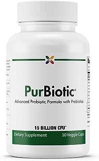 Stop Aging Now - PurBiotic 15 Billion CFU - Advanced Probiotic Formula with Prebiotics - 30 Veggie Caps
