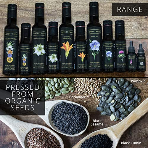 Perfect Press Non GMO Amaranth Seed Oil - Natural Face Moisturizer with Squalene Oil - Benefits Immune System, Brain…