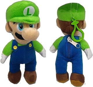 "AI Luigi Plush Keychain - Super Mario Character 7"" Keychains"