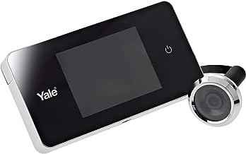 Yale digitale deurspion 500 - zilver