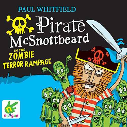 Pirate McSnottbeard in the Zombie Terror Rampage cover art