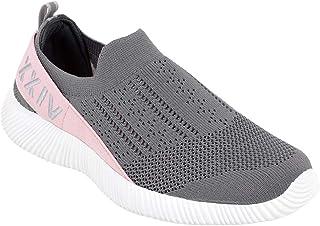 KazarMax Women Grey Training Slip-On Shoes