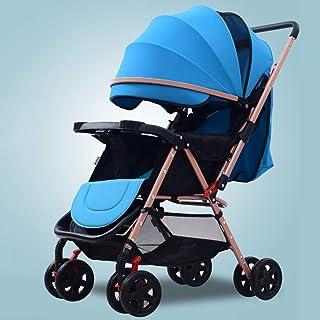 Stolar med vändbart styre, bärbar barnvagn ultralätt nyfödd buggy-a