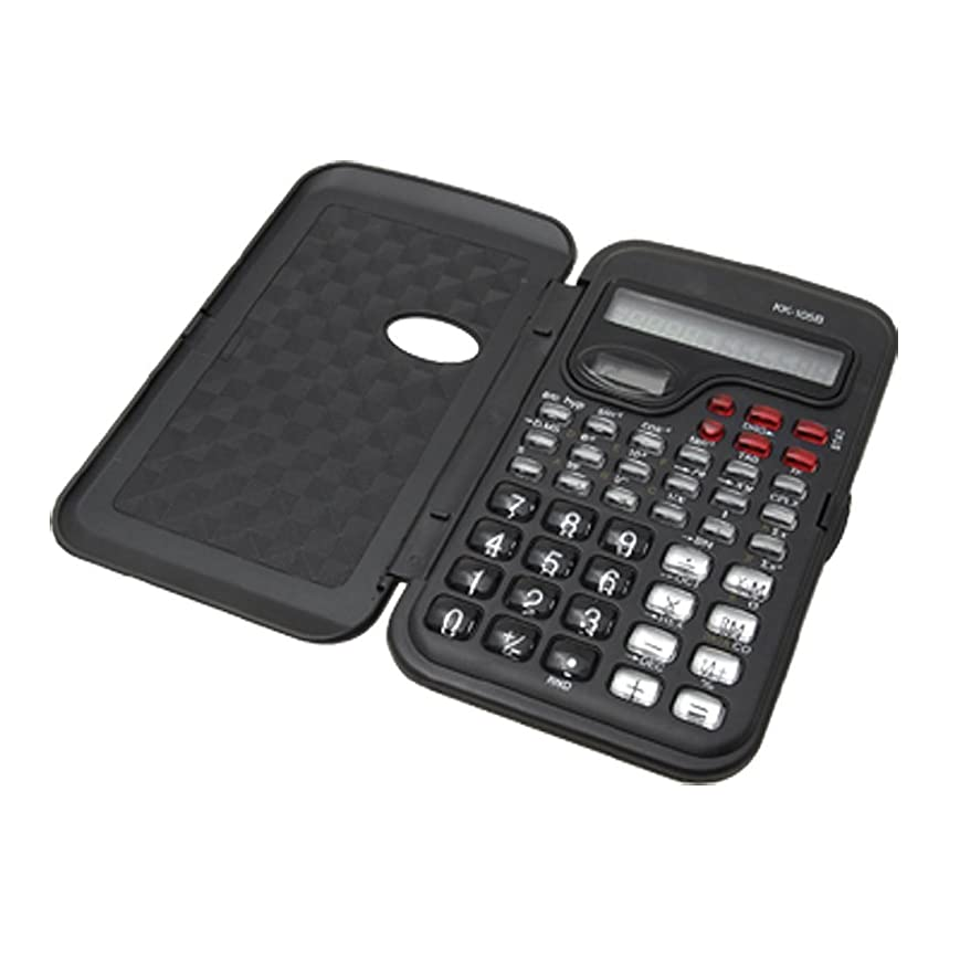 ニンニク漏れ去るMyoffice 電卓 関数電卓 数学自然表示 学生 10桁 電子 13x 7.4 x 1.1cm