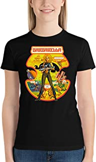 Barbarella - Poster Classic Science Fiction Cult Movie 5 Women's Tee Shirt