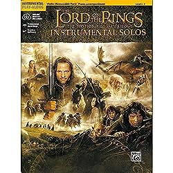 The Lord Of The Rings (Seigneur des Anneaux ) - Instrumental Solos - Partitions de violon [partitions]