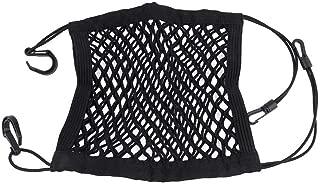 CamKpell Auto Universal Elastic Mesh Net Trunk Bag//zwischen Auto Organizer Gep/äckhalter Tasche mit 4 Kunststoffhaken