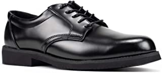 RYNO GEAR Men's Leather Uniform Oxford Dress Shoe