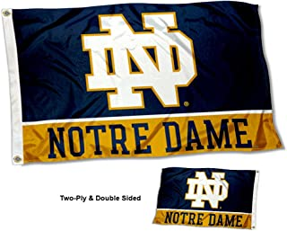 College Flags and Banners Co. Notre Dame Fighting Irish Double Sided Flag
