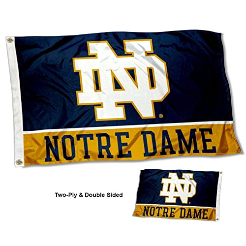 d12b9698b76 College Flags and Banners Co. Notre Dame Fighting Irish Double Sided Flag