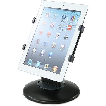 サンワダイレクト タブレット iPad スタンド 360度回転 角度調節 卓上 200-PDA051