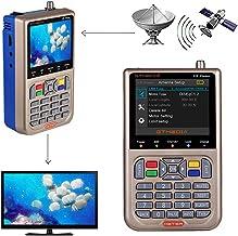 GT MEDIA V8 Satellite Finder Meter TV DVB-S/S2/S2X Signal Receiver H.264 Sat Detector, HD..