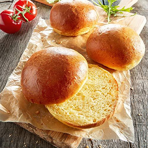 Besser Brioche-Burger-Brötchen; 6 x 100 g