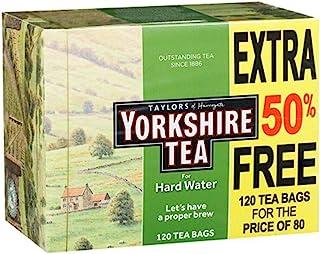 Yorkshire Tea for Hard Water 120 Theezakjes, een echt brouwsel, puur en eenvoudig