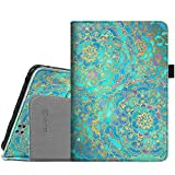 Fintie Folio Case for Kindle Fire HD 7' (2012 Old Model) - Slim Fit PU Leather Cover with Auto Sleep/Wake Feature (will only fit Amazon Kindle Fire HD 7, Previous Generation - 2nd), Shades of Blue