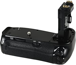DSTE Multi-Poder Vertical Batería Apretón Titular para Canon EOS 6D Mark II 2 DSLR Cámara Fotográfica como BG-E21
