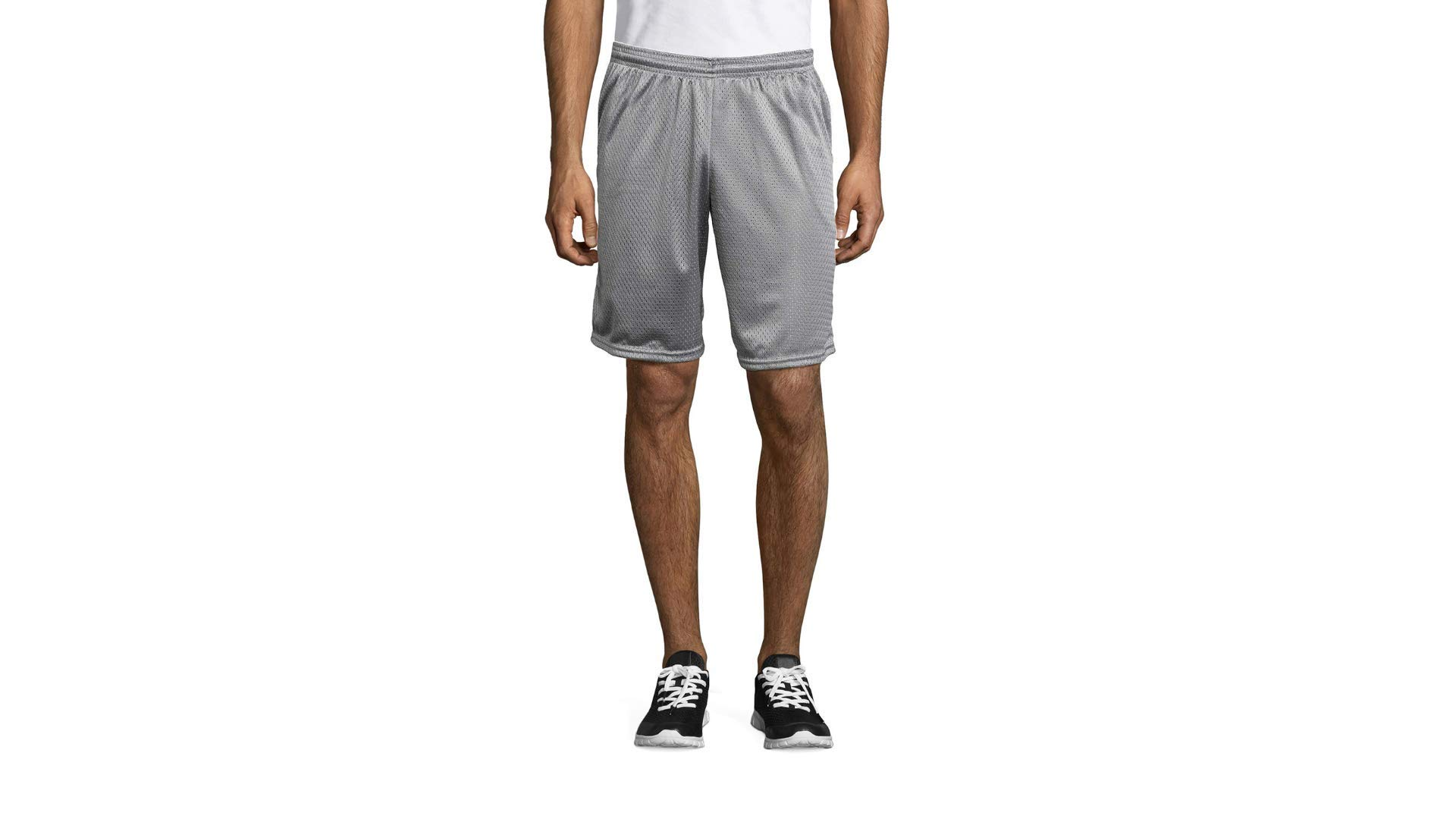 Hanes Sport Mens Mesh Pocket Short