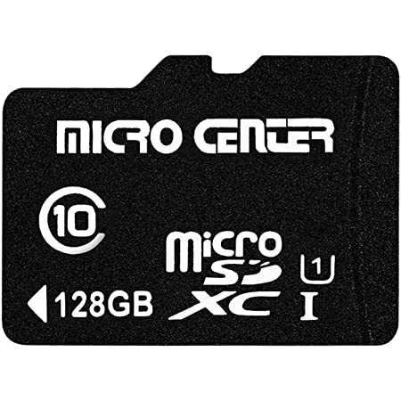 mit SD Adapter Genericc 128GB Micro SDXC Speicherkarte Class 10 f/ür Smartphones und Tablets,