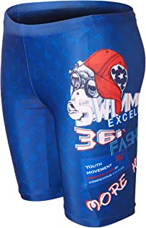 361° Men Jammers for Swimming Athletic Professional Swimsuit, Chlorine Resistant