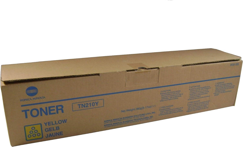 Konica Minolta Yellow Toner 驚きの値段 大幅にプライスダウン Yield 12000 8938-506 Cartridge