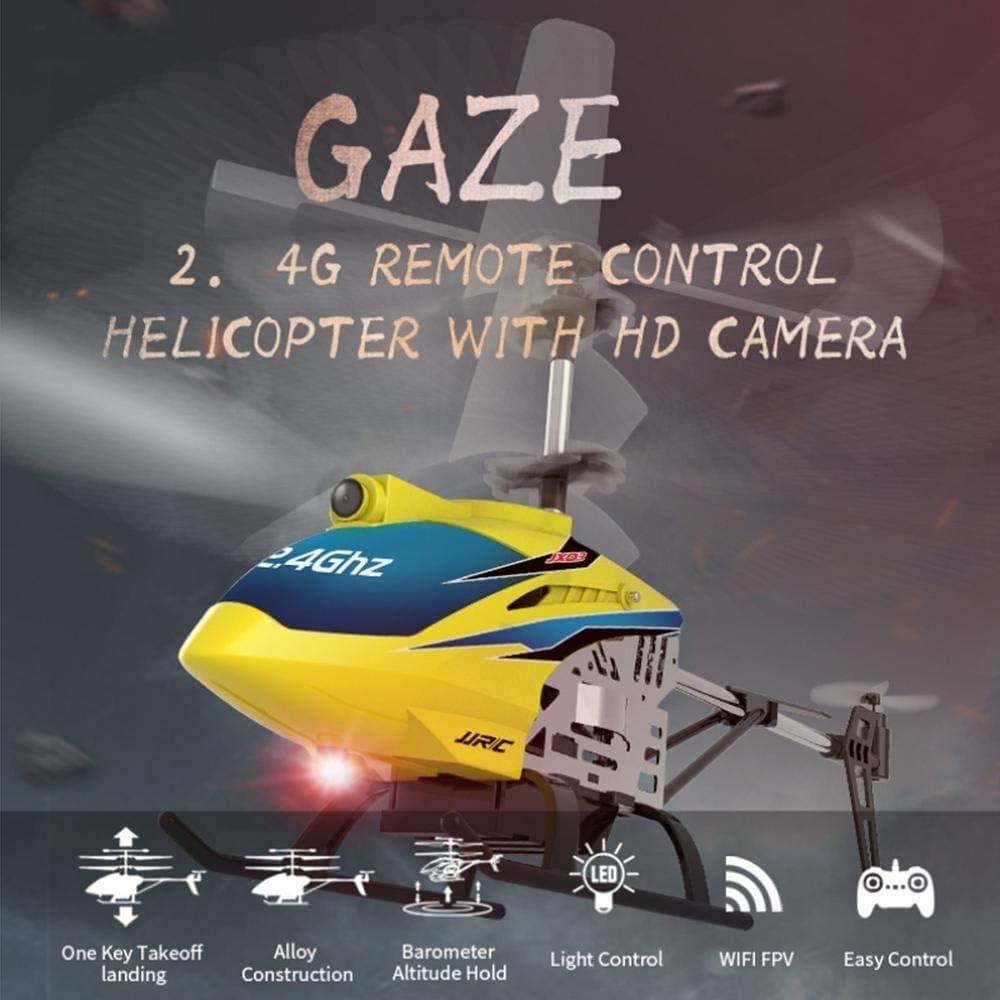 SYXX Hélicoptères RC, Jouets éducatifs for Enfants, 2.4G HD WiFi Photographie aérienne, Cadeaux éducatifs de créatifs for Enfants, Jouets for Enfants, Rouge (Color : Yellow) Rouge