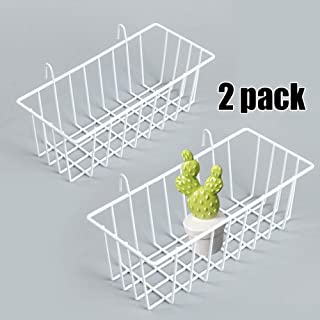 Mygogo wall grid panel basket display shelf storage rack 9.2