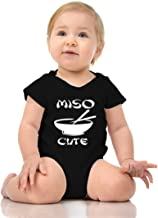 FNB Fashion ME SO Cute - Funny Miso Soup JAPANISE Baby Romper Onesie Unisex Warpped and Protected with A Clear Poly Bag